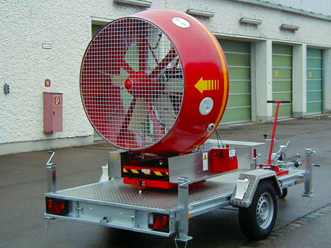 First light-weight Mobile Ventilation Unit